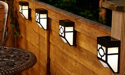 Up to 12-Pack of Solar Fence Lights