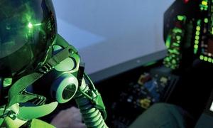 AVIASIM Lille: Vol à bord d'un simulateur d'avion de chasse F-35 au choix entre 2, 4 ou 6 sessions ou pack dès 69 €