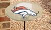 NFL Birdbath Set with Garden Stake: NFL Birdbath Set with Garden Stake