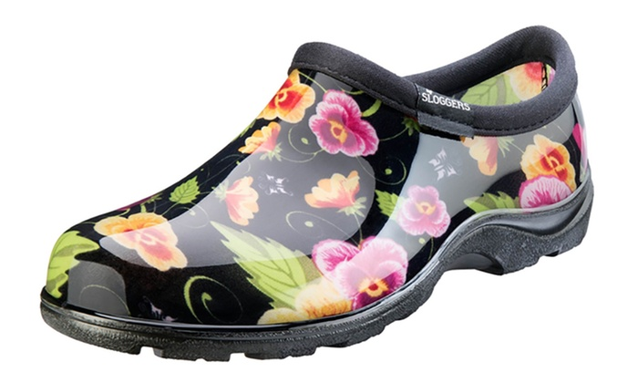 Sloggers Floral Women's Waterproof Garden Shoes: Sloggers Floral Women's Waterproof Garden Shoes