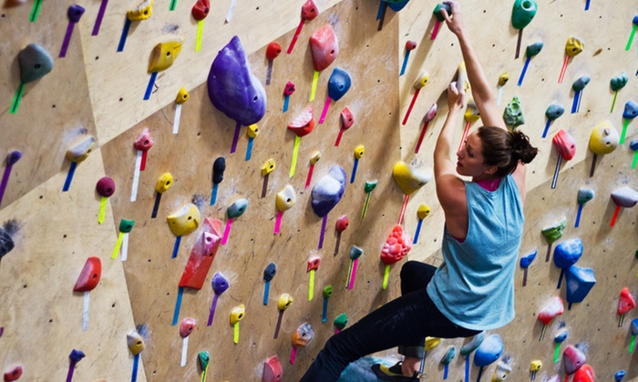 Brooklyn Boulders - Brooklyn Boulders - Chicago: Day Pass and Gear Rental, Climbing Class, or Membership Package at Brooklyn Boulders (Up to 51% Off)