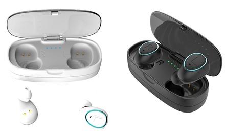 Auriculares inalámbricos Soundflow i17+ con estuche de carga