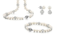 Freshwater Pearl and Crystal Jewellery from $14.99–$39.99 (Shipping Included)