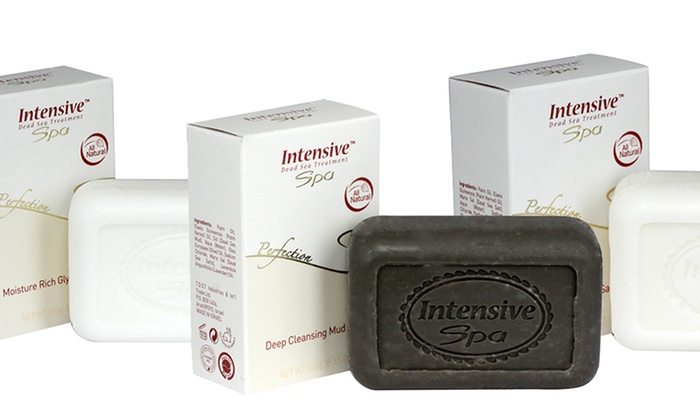 Intensive Spa Dead Sea Cleansing Soap (3-Pack)