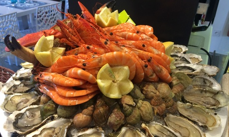 2 plateaux de fruits de mer