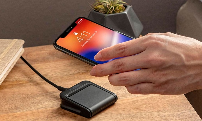 best service c30a3 b45b1 Up To 20% Off on mophie Wireless Travel Charger | Groupon Goods