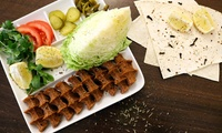 Veganes Çiğ-Köfte-Menü & Getränk mit Getränk und Dessert bei Cig Köfte Berlin (bis zu 52% sparen*)