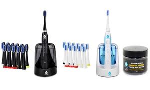 Pursonic S750 Sonic Toothbrush with UV Sanitizing & 12 Brush Heads