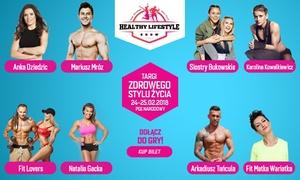 Healthy Lifestyle Show 2018: Od 55 zł: bilet na targi Healthy Lifestyle Show 2018 na Stadionie PGE Narodowym