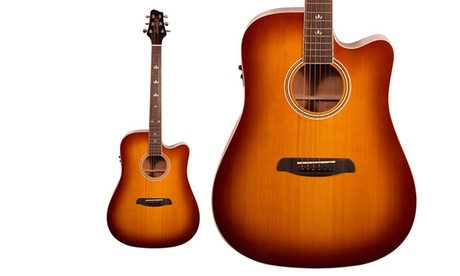 Sawtooth Solid Top Electro-Acoustic Dreadnought Guitar with Cutaway 3c88538e-dc21-11e6-b1b7-002590604002