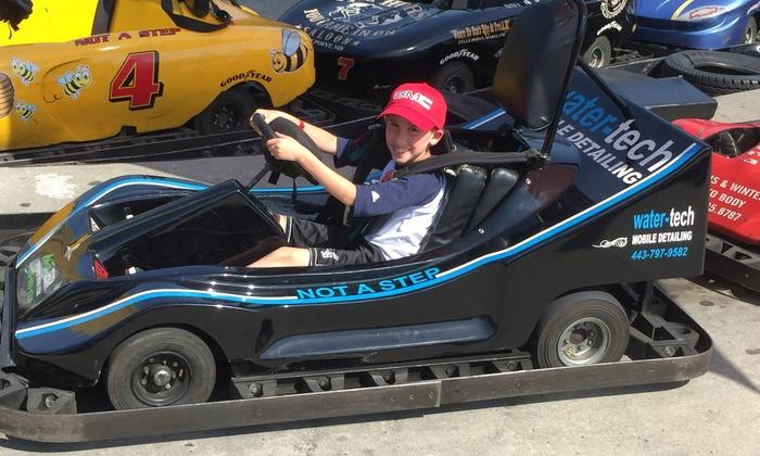 go kart The Go Kart Track   Up To 64% Off   White Marsh, MD | Groupon
