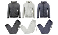 Galaxy By Harvic Boys French Terry Hoodie and Jogger Set