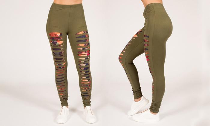 18dd3ce4e5ec9 Up To 76% Off on RAG Women's Active Yoga Leggings   Groupon Goods