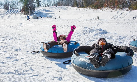 Snow Tubing Tickets at Nashoba Valley Ski Area (Up to 39 perc Off). Two Options Available.
