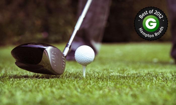 Heron Ridge Golf Club - Heron Ridge Golf Club: $55 for Three Green Fees, One Cart Fee, and Three Buckets of Range Balls at Heron Ridge Golf Club (Up to $189 Value)
