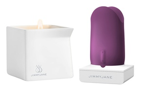 Jimmyjane Form 5 Vibrator with Free Afterglow Massage Candle | Groupon
