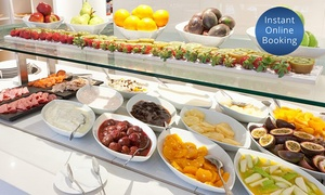 Windows on the Park Restaurant: Breakfast Buffet for One (From $25) or Two People (From $49) at Windows on the Park Restaurant (Up to $68 Value)