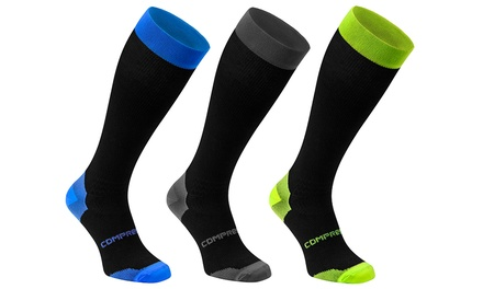 Hasta 15 pares de calcetines largos de compresión desde 19,99 € (hasta 91% de descuento)