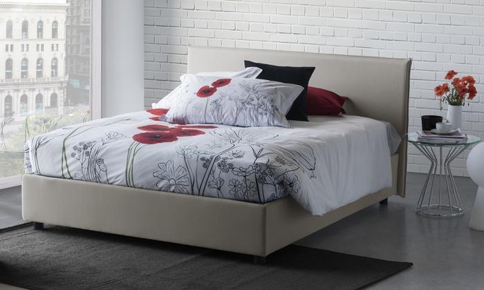 Letto contenitore di design milano groupon goods - Rivestimento letto contenitore ...