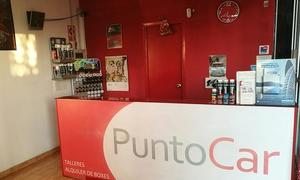 PUNTOCAR: Cambio de aceite y filtro o 4 filtros, revisión de 30 puntos y diagnosis electrónica desde 34,90 € en Puntocar