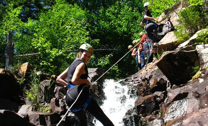 Canyoning Initiation Package for Two or Four People At Canyoning-Québec (Up to 50% Off)