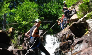Canyoning-Québec: Canyoning Initiation Package for Two or Four People At Canyoning-Québec (Up to 50% Off)