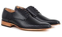 Groupon.com deals on Gino Vitale Mens Diamond Cut Dress Shoes