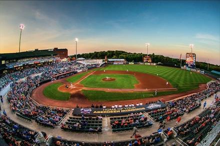 Aberdeen IronBirds Baseball Home Game (June 14–August 30)