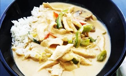 Menú de noodles wok para 2 o 4 con aperitivo, entrante, principal y bebida desde 19,99 € en Thai Noodles Wok