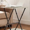 Kildare Marble Tray Table Set (4-Piece)