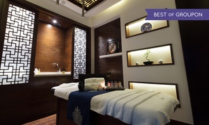 Tao Spa: Choice of 60- or 90-Minute Spa Treatment with Optional 30-Minute Customised Facial at Tao Spa (Up to 46% Off)