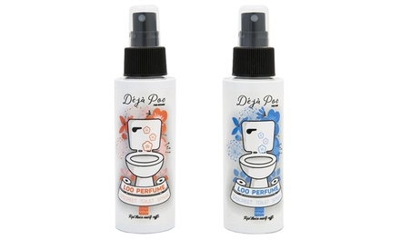One, Two or Four 100ml Deja Poo Before You Go Toilet Sprays