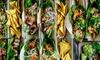 Nice Nice - München: 3 Tacos nach Wahl mit Nachos, Dip und Bio-Schorle für 1 oder 2 Personen bei Nice Nice (bis zu 34% sparen*)