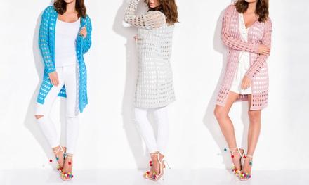 Damen-Strickjacke in der Farbe nach Wahl