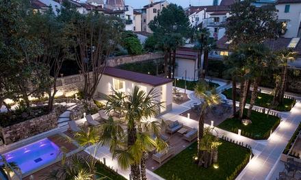 Palazzo Castri Spa: percorso Spa di 2 ore con tisana e trattamento da 60 minuti a scelta (sconto fino a 65%)