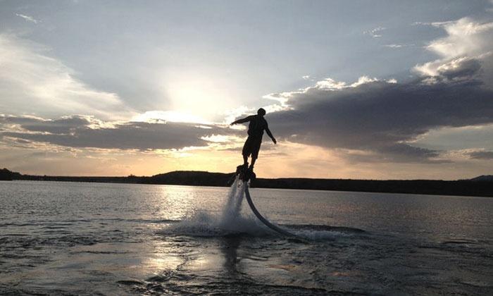 AZ Flyboard - Lake Havasu City: 15- or 30-Minute Flyboard Rental for Two from AZ Flyboard (50% Off)
