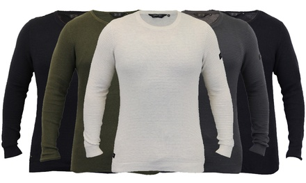 Dissident Men's Knitted Cotton Jumpers for £16.85