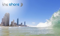 Surfers Paradise: 3- to 7-Night Beach Getaway for Two People with Breakfast at The Shore Holiday Apartments