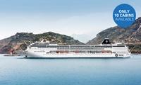 Super Bingo Cruise: Three-Night Portuguese Island All-Inclusive Cruise for Two Aboard the MSC Sinfonia