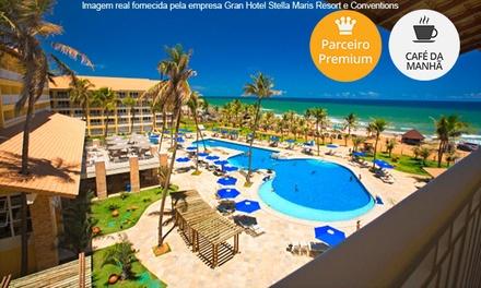 Salvador/BA: 1, 2, 3, 5 ou 7 noites para 2 + café da manhã no Gran Stella Maris Resort – parcele sem juros