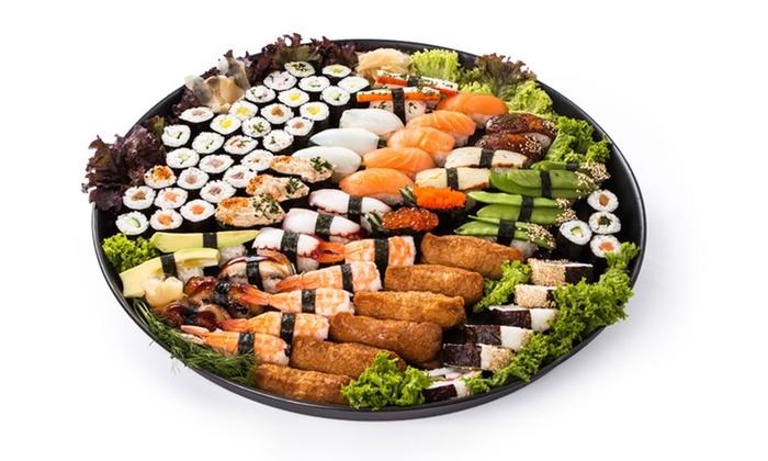 Ichiban Sushi Osnabrück - Osnabrück: 30- oder 60-teilige Sushi-Platte für zwei oder vier Personen bei Ichiban Sushi Osnabrück (bis zu 54% sparen*)