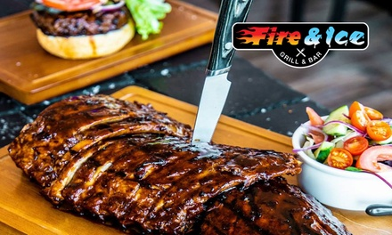 $39 for $80 to Spend on Food and Drinks for Minimum Two People at Fire and Ice Grill and Bar