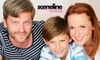 sceneline - Mehrere Standorte: 90 Min. Family/Kids-Fotoshooting mit Make-up und Bildern als Datei und Abzug bei sceneline studios (bis zu 73% sparen*)