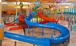 Splash Cincinnati Indoor Water Park: Full-Day Admission with Unlimited Soda for Two or Four at Splash Cincinnati Indoor Water Park (Up to 58% Off)