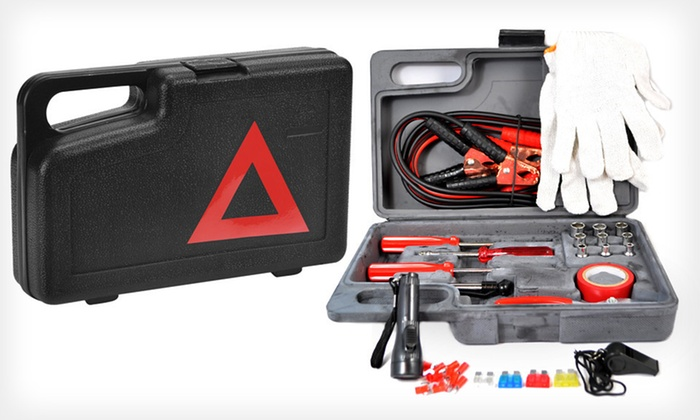 Steel Bolts Roadside Emergency Toolkit: $19 for a 30-Piece Steel Bolts Roadside Emergency Toolkit ($29.99 List Price). Free Shipping and Free Returns.
