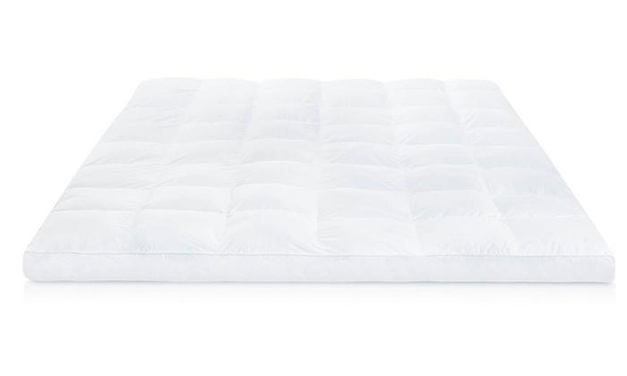 Lucid Plush Down Alternative Fiber Bed Topper Groupon
