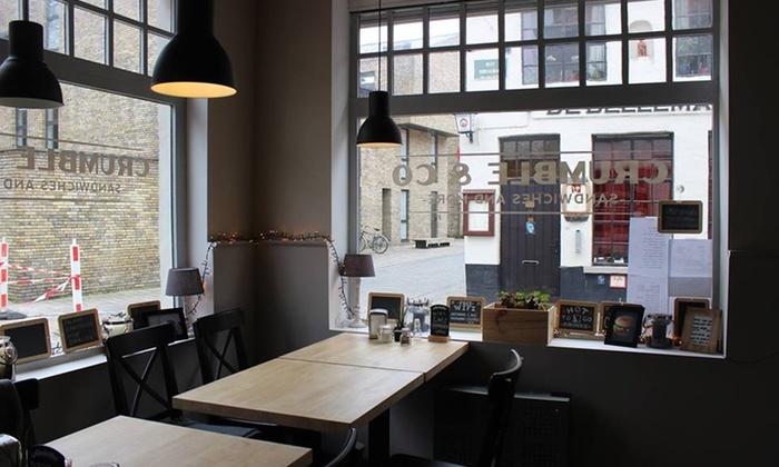 Luxe ontbijt met cava vanaf 19,99€ bij Crumble And Co in het mooie Brugge.