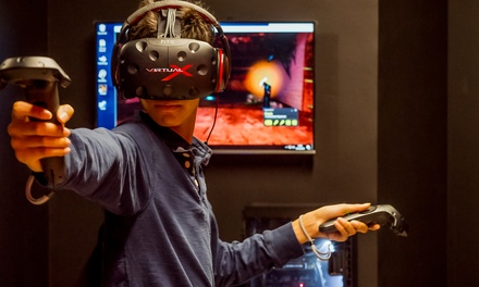 25-Minute Virtual Reality Gaming Session For Up to Four at Virtual X (Up to 45% Off)