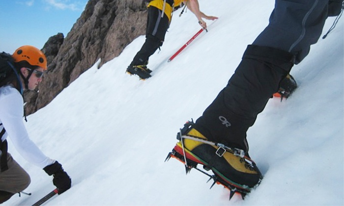 SWS Mountain Guides - Mount Shasta: $72 for a One-Day Mount Shasta Ice-Ax Clinic from SWS Mountain Guides ($125 Value)