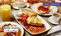 LAST CHANCE TO BUY: Prosecco Brunch for One or Two at Bella Italia, Nationwide (Up to 57% Off)